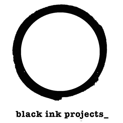 logo identity black ink projects