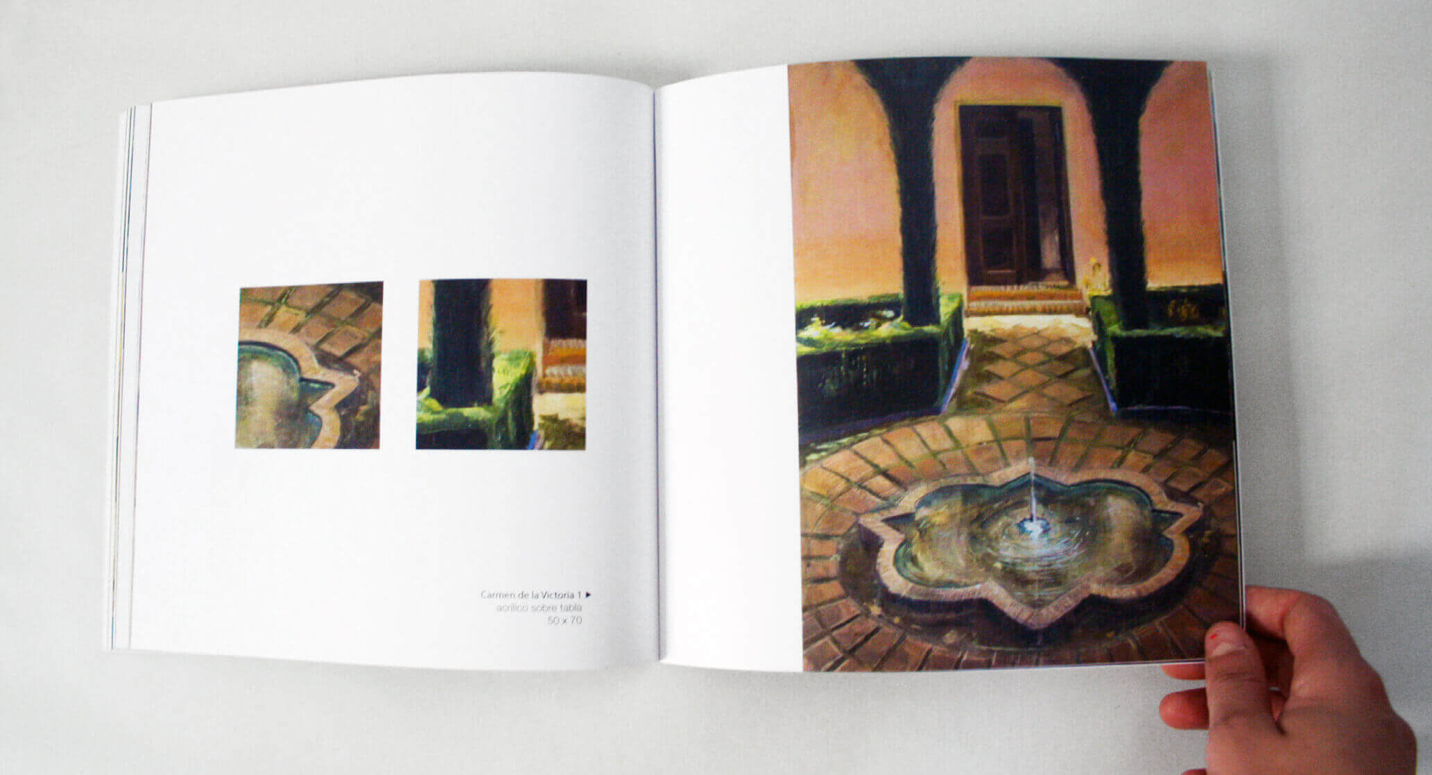 pages art book layout design
